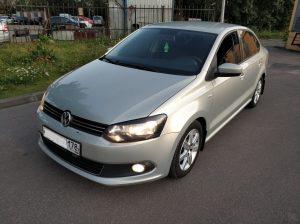 Фольксваген Поло 1.6 АКП авто кредитный выкуплен за 350000